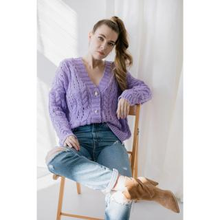 Lemoniade Womans Sweater Ls317 dámské Lilac One size