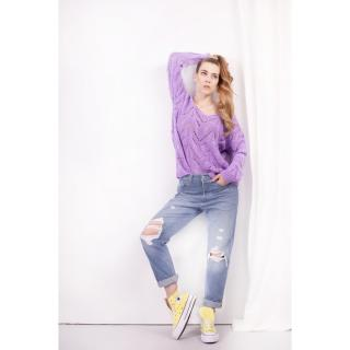 Lemoniade Womans Sweater Ls319 dámské Lilac One size