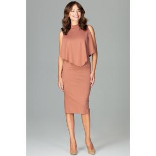 Lenitif Womans Dress K480 dámské Brown S