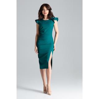 Lenitif Womans Dress L034 dámské Green S