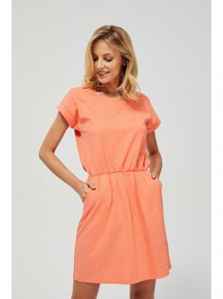 Letné a plážové šaty pre ženy Moodo dámské oranžová XS
