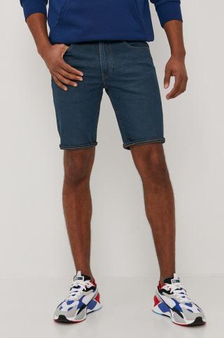 Levis - Rifľové krátke nohavice pánské tmavomodrá 30