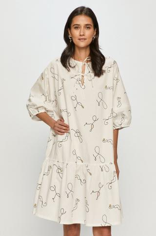 Levis - Šaty dámské biela XS