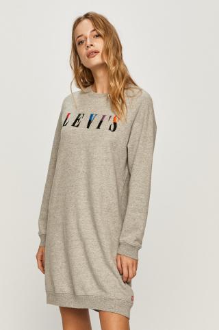 Levis - Šaty dámské sivá XS