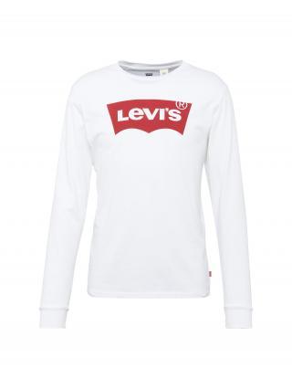 LEVIS Tričko  červená / biela pánské L