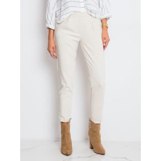 Light beige women´s pants from RUE PARIS dámské Neurčeno 38