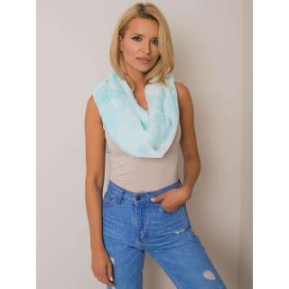 Light blue checkered women´s scarf dámské Neurčeno One size