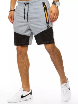 Light gray mens sweatpants Dstreet SX1345 pánské Neurčeno M