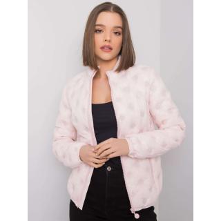 Light pink transitional jacket without a hood dámské Neurčeno S