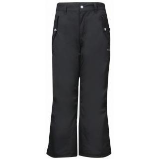 LINDVALLEN dětské lyžařské kalhoty, barva černá s potiskem pánské Neurčeno S