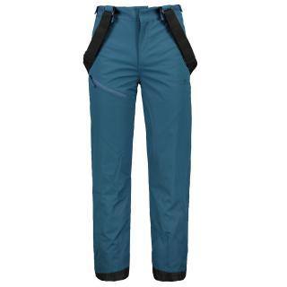 LINGBO - ECO pánské zateplené kalhoty s merinem - modré Neurčeno S