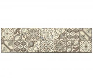Linoleum Vista Morocco Brown 50x180 cm Hnědá 50x180 cm