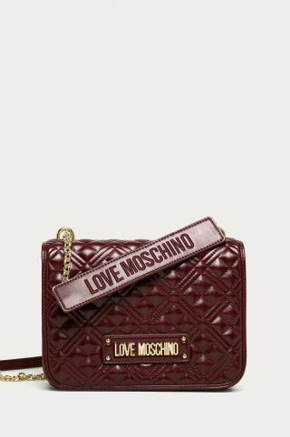 Love Moschino - Kabelka dámské burgundské ONE SIZE