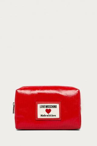 Love Moschino - Kozmetická taška dámské červená ONE SIZE