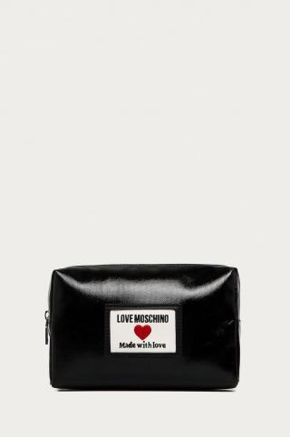 Love Moschino - Kozmetická taška dámské čierna ONE SIZE