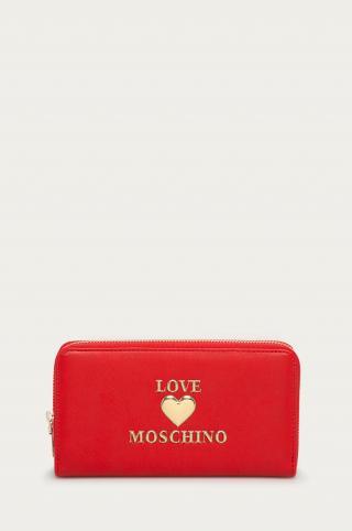 Love Moschino - Peňaženka dámské červená ONE SIZE
