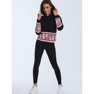 LOVE womens sweatshirt black BY0835 dámské Neurčeno XL