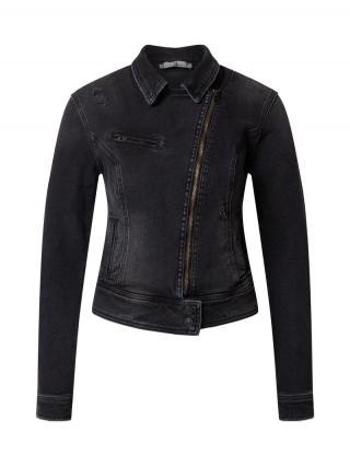 LTB Prechodná bunda Ellen  čierny denim dámské L