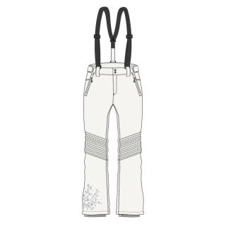 LYPA womens softshell pants white dámské Other M