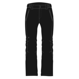 LYXLY womens softshell pants black dámské Other S