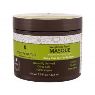 Macadamia Professional Weightless Repair 222 ml maska na vlasy pre ženy na poškodené vlasy; na šedivé vlasy; Cruelty free; Vegan dámské 222 ml