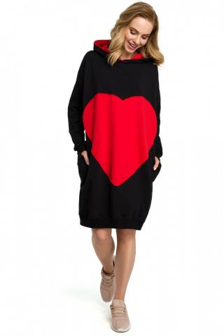 Made Of Emotion Womans Dress M387 dámské Black One size