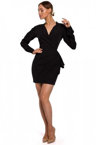 Made Of Emotion Womans Dress M531 dámské Black L