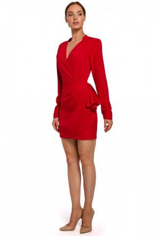 Made Of Emotion Womans Dress M531 dámské Red M