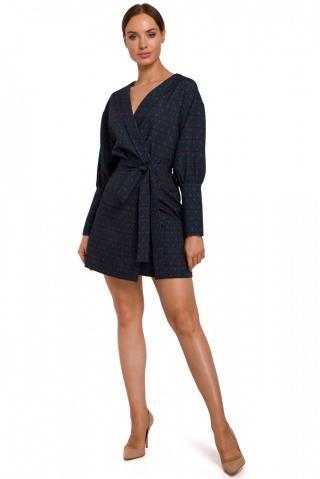 Made Of Emotion Womans Dress M548 Model 3 dámské wzorzysty S