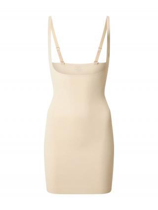MAGIC Bodyfashion Korzetové šaty  svetlobéžová dámské S