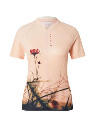 Maloja Funkčné tričko Lorbeere  telová / zmiešané farby dámské XS