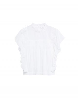 MANGO Blúzka Coliseo-H  biela dámské S