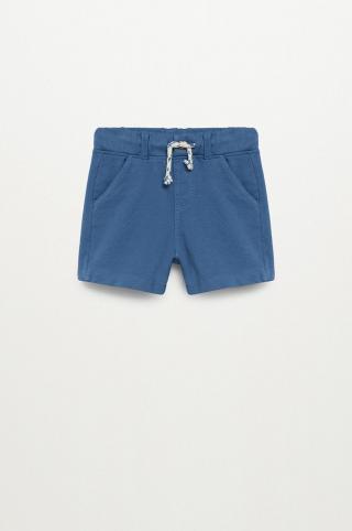 Mango Kids - Detské krátke nohavice Chai 80-104 cm modrá 104
