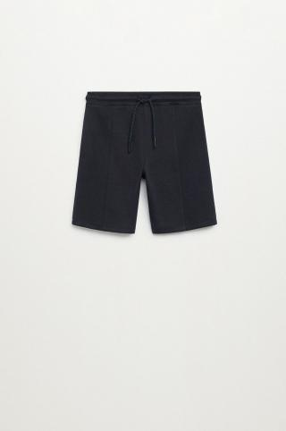 Mango Kids - Detské krátke nohavice Jacob 116-164 cm tmavomodrá 116