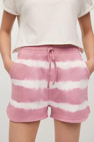 Mango Kids - Detské krátke nohavice Penyp-I ružová XS