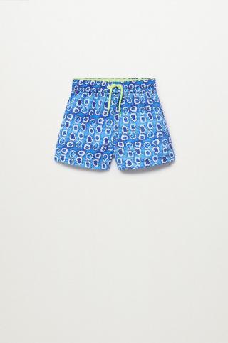 Mango Kids - Detské plavkové šortky Gotab 86-104 cm modrá 104