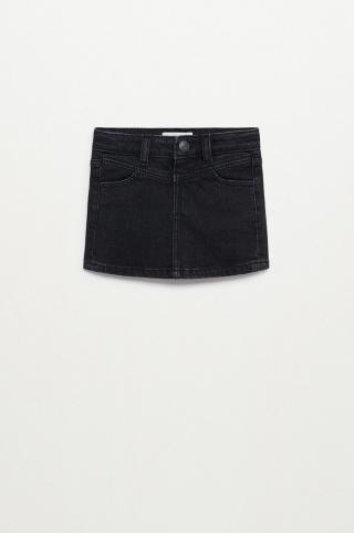 Mango Kids - Dievčenská sukňa Lily 80-104 cm sivá 92