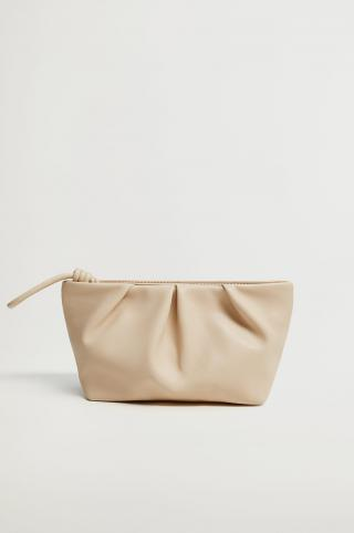 Mango - Kozmetická taška CASCAIS dámské béžová ONE SIZE