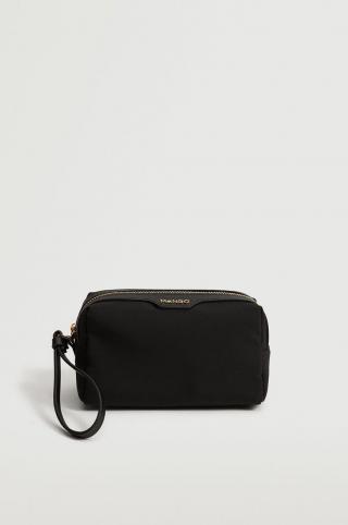 Mango - Kozmetická taška Creta dámské čierna ONE SIZE