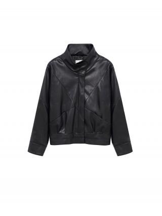 MANGO Prechodná bunda Soul  čierna dámské XL