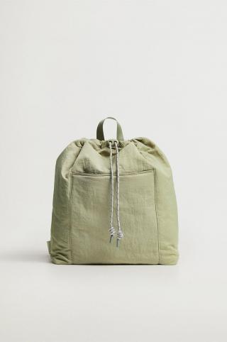 Mango - Ruksak Sainz dámské zelená ONE SIZE