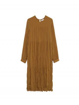 MANGO Šaty  hnedá dámské 38