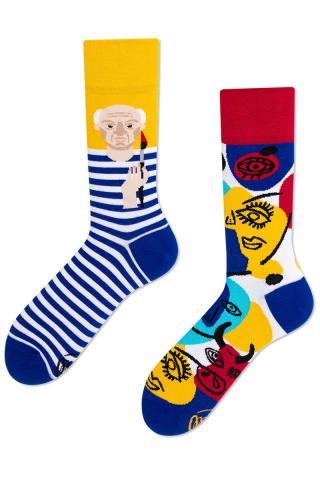 Many Mornings farebné ponožky Picassocks - 35-38 dámské farebná 35-38