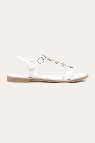 Marco Tozzi - Sandále dámské biela 36