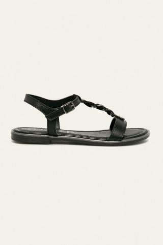 Marco Tozzi - Sandále dámské čierna 37