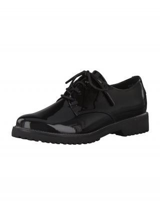 MARCO TOZZI Šnurovacie topánky  čierna dámské 36