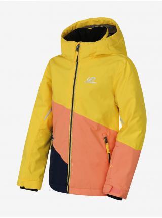 Marhuľovo-žltá detská zimná bunda Hannah 116