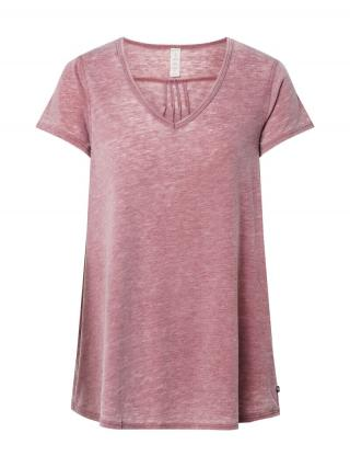 Marika Funkčné tričko MARCY TEE MARCY TEE  vínovo červená dámské XS