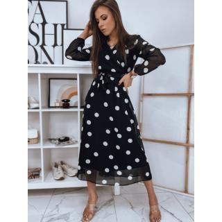 MARRY black dress Dstreet EY1635 dámské Neurčeno XL