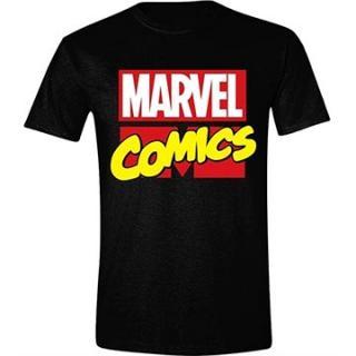 Marvel Classic Logo tričko S